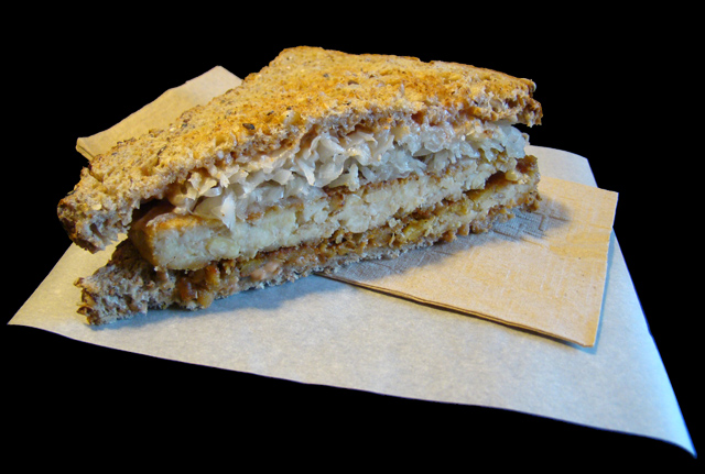 Tempeh Reuben on Dave's Killer Bread Viva! Vegetarian Grill